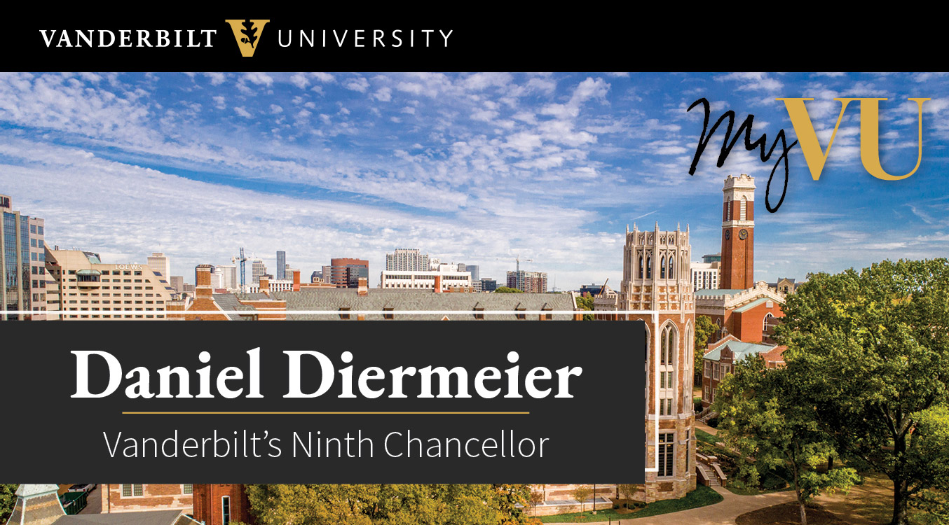 Vanderbilt University: Daniel Diermeier, Vanderbilt's Ninth Chancellor