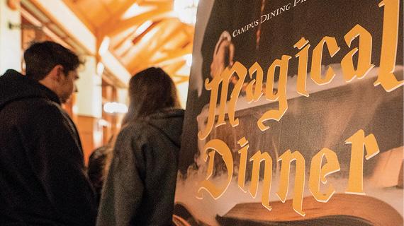 Hogwarts themed dinner