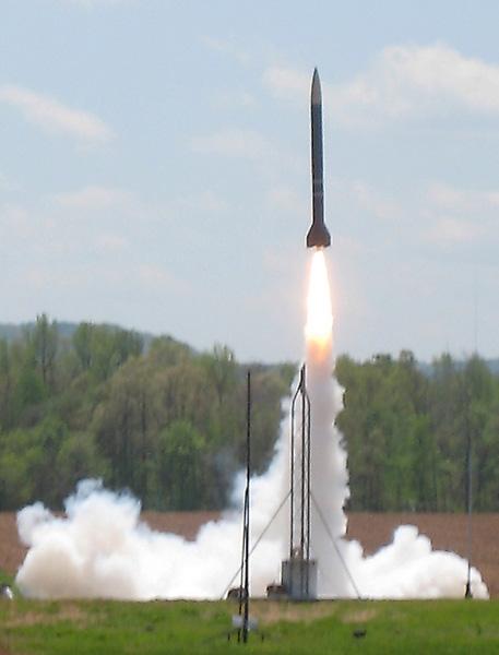 Vandy rocket launch USLI09