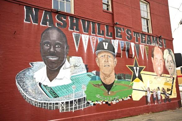 Football Head Coach Derek Mason's Mural Debut on West End