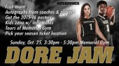 Meet the basketball teams at free Dore Jam event Oct. 25