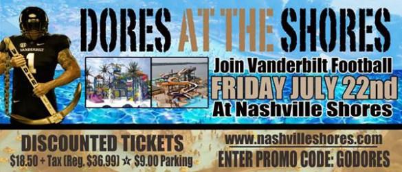 Nashville shores coupons