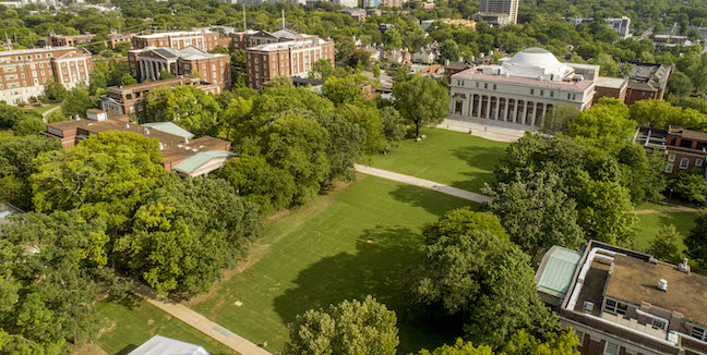 Peabody Lawn Transformation aerial