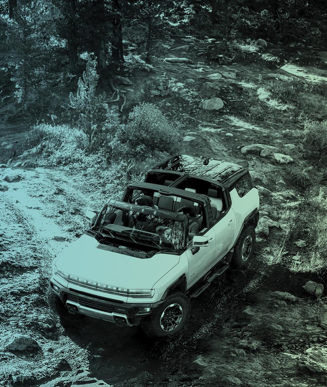 The GMC Hummer EV SUV