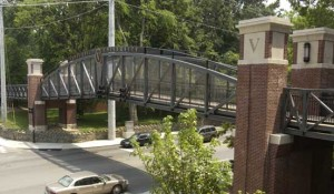 Pedestrian bridge to close for summer months