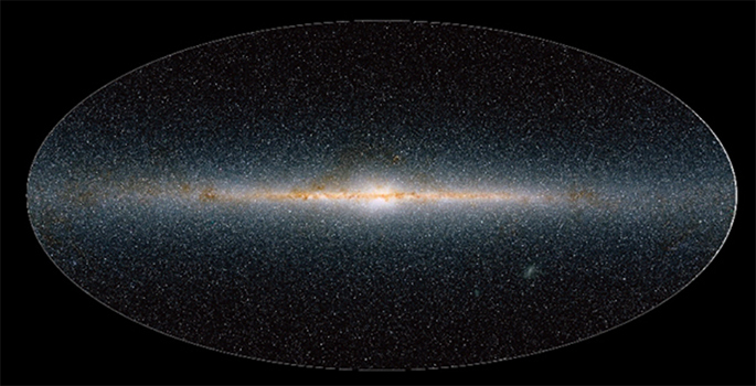 milky way galaxy image