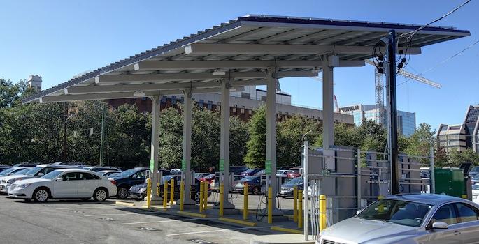 Solar Smart Station Vanderbilt Energy Car