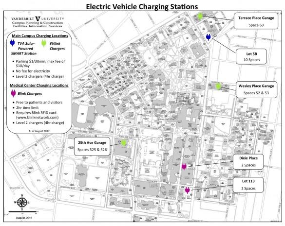 Vanderbilt Smart Station Map Parking