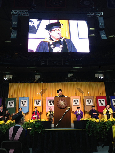 Zeppos at 2013 Commencement