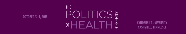 Politics of Health logo