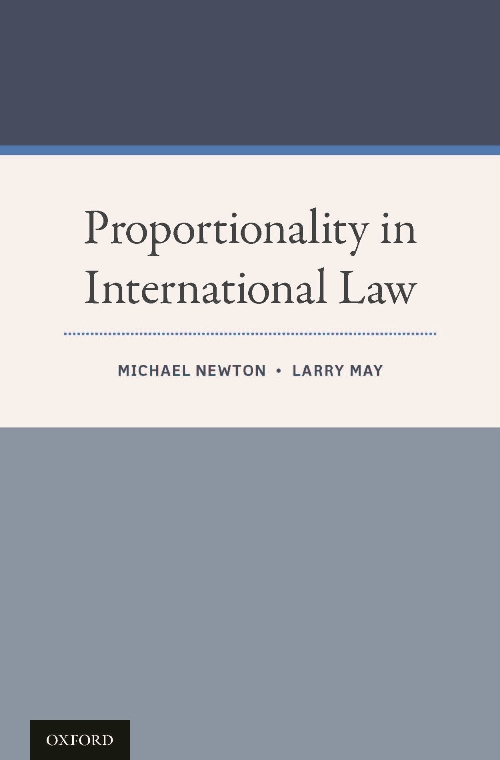 Proportionality in International Law book cover
