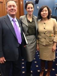 Haw with legislators