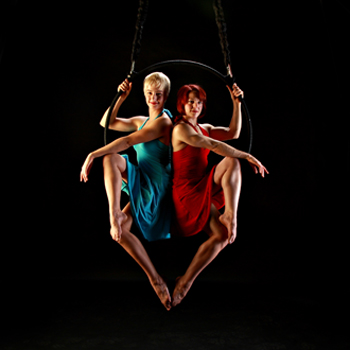 Aerial Fabricators will be among the featured performers at the 2012 Sideshow Fringe Festival. (image courtesy of Sideshow Fringe Festival)