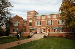 Alumni Hall, future home of the Graduate School at Vanderbilt.