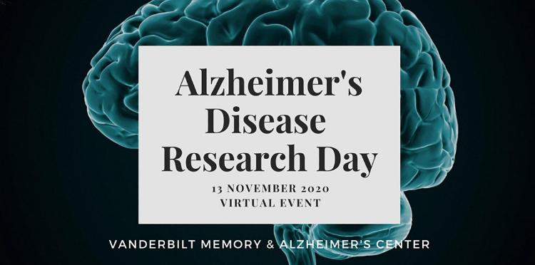 Alzheimer's disease Research Day virtual event Nov. 13, 2020