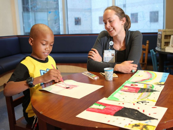 program gives young patients creative outlet | vumc reporter, Cephalic vein