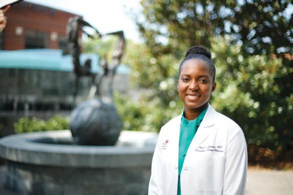Atia Jordan, assistant professor of clinical pediatrics (John Russell/Vanderbilt)
