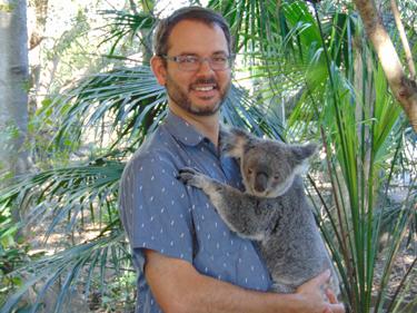 Australia fetal koala
