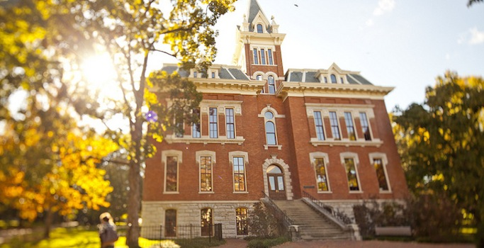Benson Hall, home of the Vanderbilt Department of English. (Vanderbilt University)