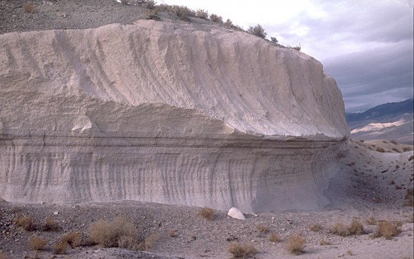 striated geological formation