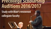 Blair precollege scholarship applications due March 14