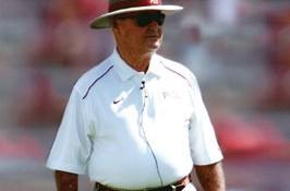 Coaching legend Bobby Bowden, MA'53