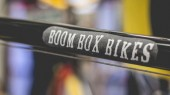 Watch slideshow on making of Boom Box Bikes art project