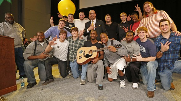 VUCast Extra: Celebrating at Vandy's Bowl Announcement Party