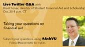 Financial aid expert to host Twitter Q&A Oct. 20