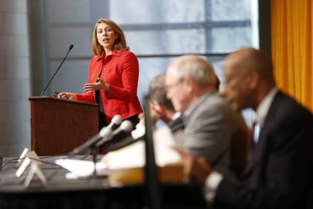 Melinda Buntin, chair of the Department of Health Policy at Vanderbilt. (John Russell/Vanderbilt)