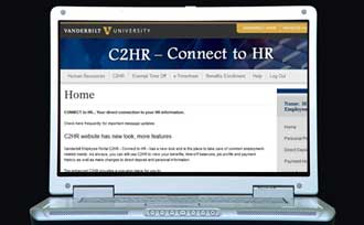 Sign up for paycheck direct deposit at C2HR