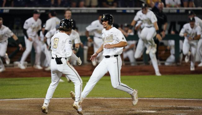Vanderbilt beats Stanford at College World Series to keep season alive