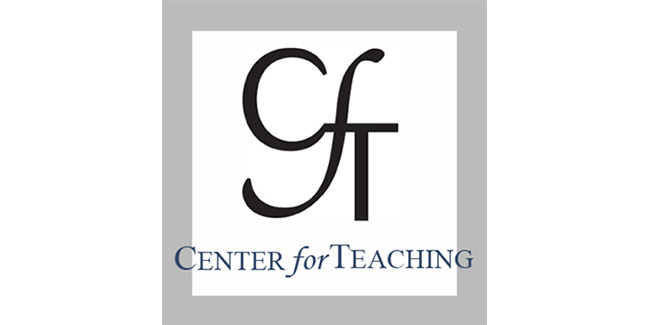Center for Teaching logo