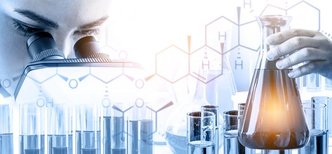 Chemical biology stock illustration