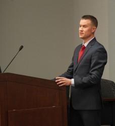 Attorney and Vanderbilt student Clayton Wiggins (Vanderbilt Law School)