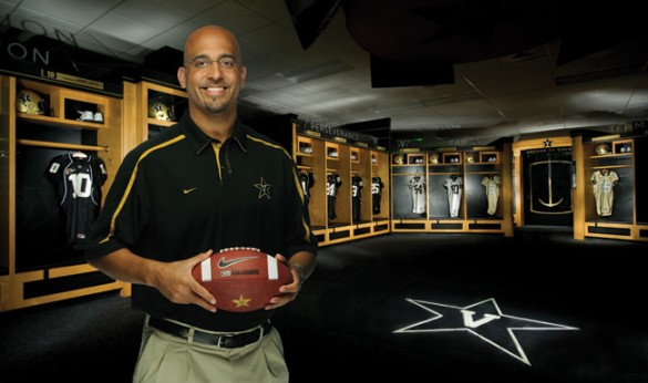 Coach James Franklin (John Russell/Vanderbilt)