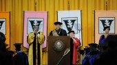 Chancellor counsels graduates on managing change at Commencement
