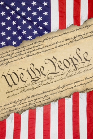 US Flag We the People
