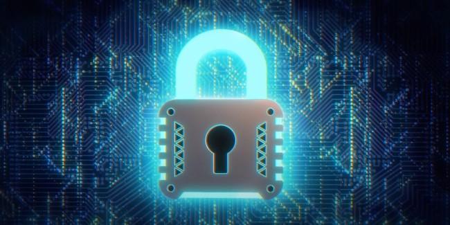 Cybersecurity stock illustration