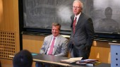 Dean shares insights with public policy studies class