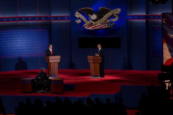Romney Obama Presidential Debate 2012