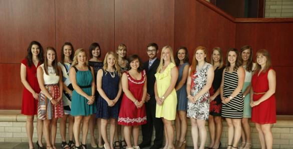 The graduating class of Vanderbilt's Dietetic Internship Program. (photo by John Russell)