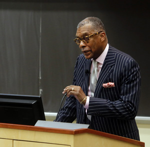 André Churchwell, M.D., Chief Diversity Officer for Vanderbilt University Medical Center. (photo by Steve Green)
