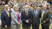 Nobel laureate's lecture highlights impact of science