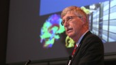 NIH director's Discovery Lecture covers biomedical research landscape