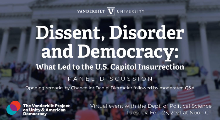 What led to the U.S. Capitol insurrection: Vanderbilt political scientists examine social, psychological, legal foundations of Jan. 6 riot
