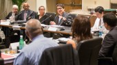 Visiting board offers feedback on diversity efforts