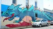 Help refresh Hillsboro Village dragon mural Oct. 31