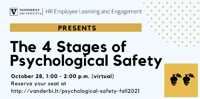 ELE presents: The 4 Stages of Psychological Safety
