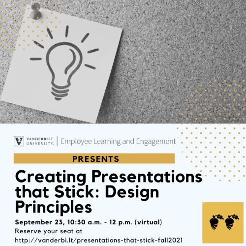 ELE Presents: Creating Presentations That Stick